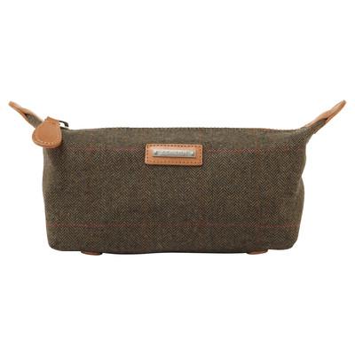 Tweed Wash Bag Windsor Tweed