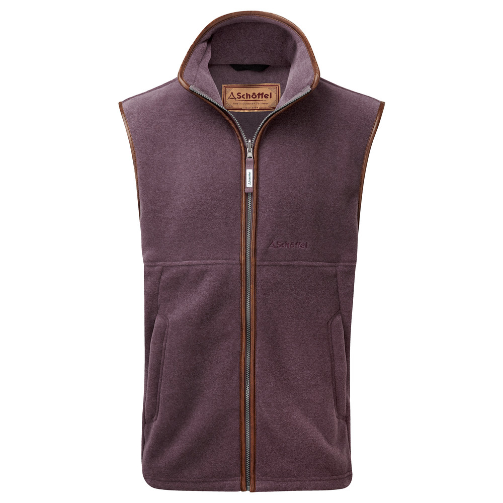 Oakham Fleece Gilet Mink/Heather