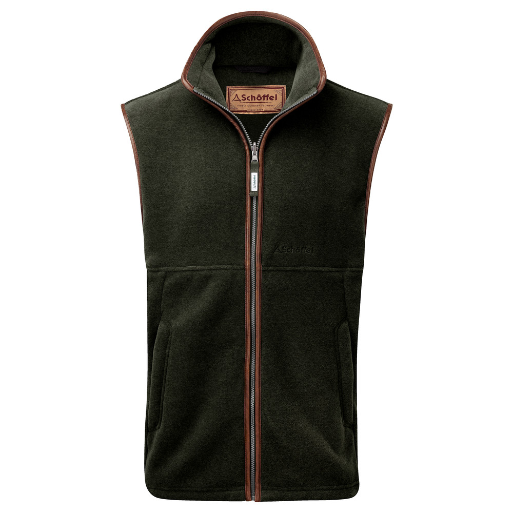 Oakham Fleece Gilet Forest