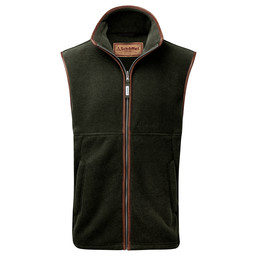 Schoffel Country Oakham Fleece Gilet in Forest