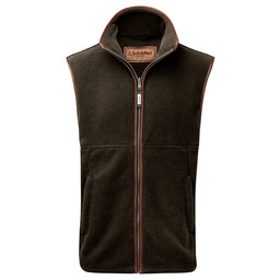 Schoffel Country Oakham Fleece Gilet in Dark Olive
