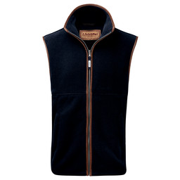 Schoffel Country Oakham Fleece Gilet in Navy