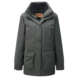 Schoffel Country Uppingham 3 in 1 Coat in Dark Olive
