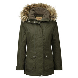 Schoffel Country Malvern Coat in Dark Olive