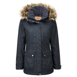 Schoffel Country Malvern Coat in Navy Blue