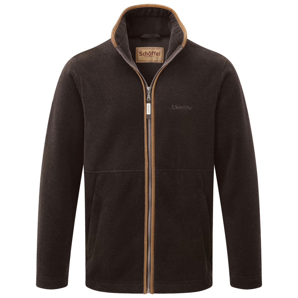 Cottesmore Fleece Jacket Espresso