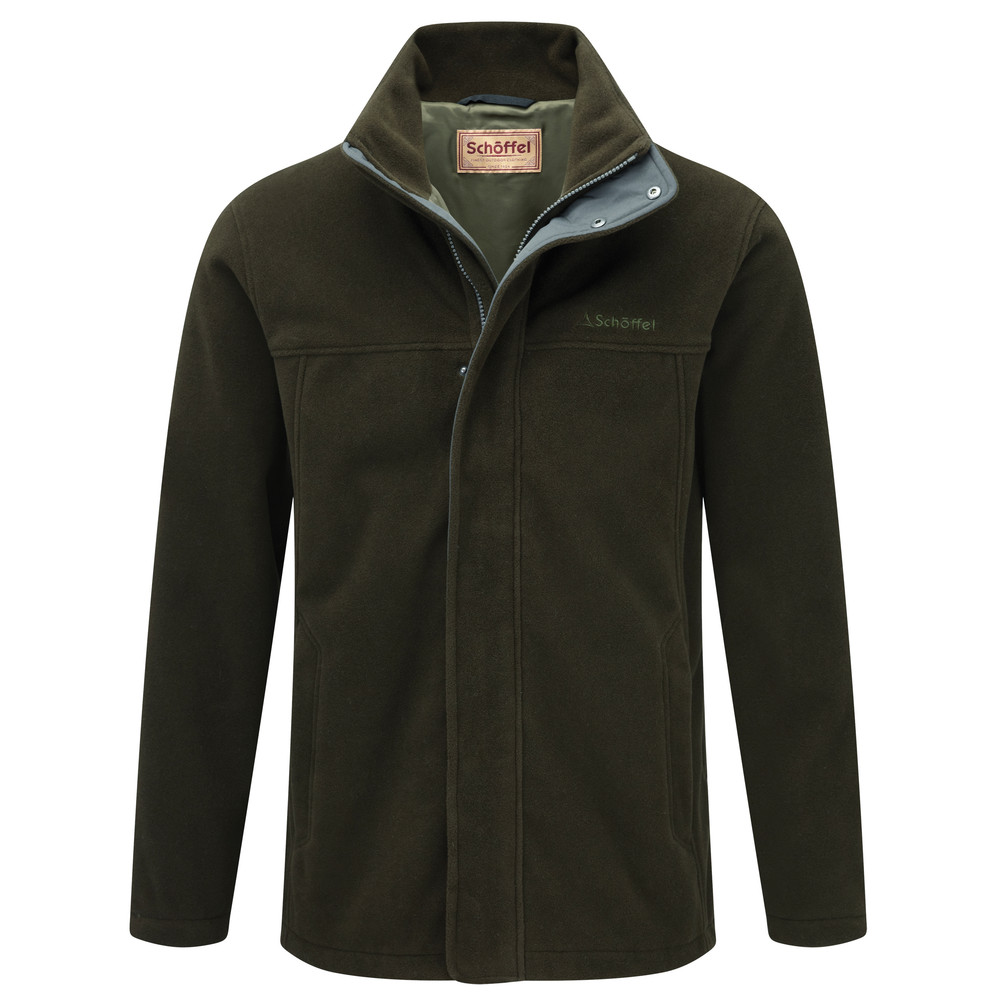 Mowbray Fleece Dark Olive