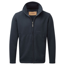 Schoffel Country Marlborough Fleece Jacket in Navy