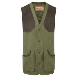 Schoffel Country Ptarmigan Tweed Waistcoat II in Sandringham Tweed