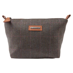Tweed Cosmetic Bag Cavell Tweed