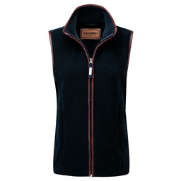 Schoffel Country Lyndon Fleece Gilet in Slate Blue