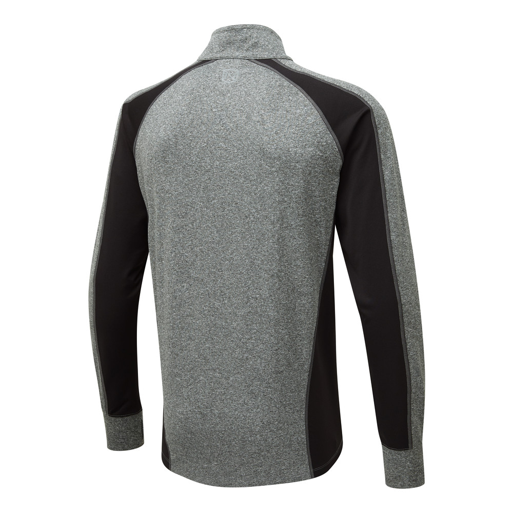 Caspian 1/4 Zip Charcoal