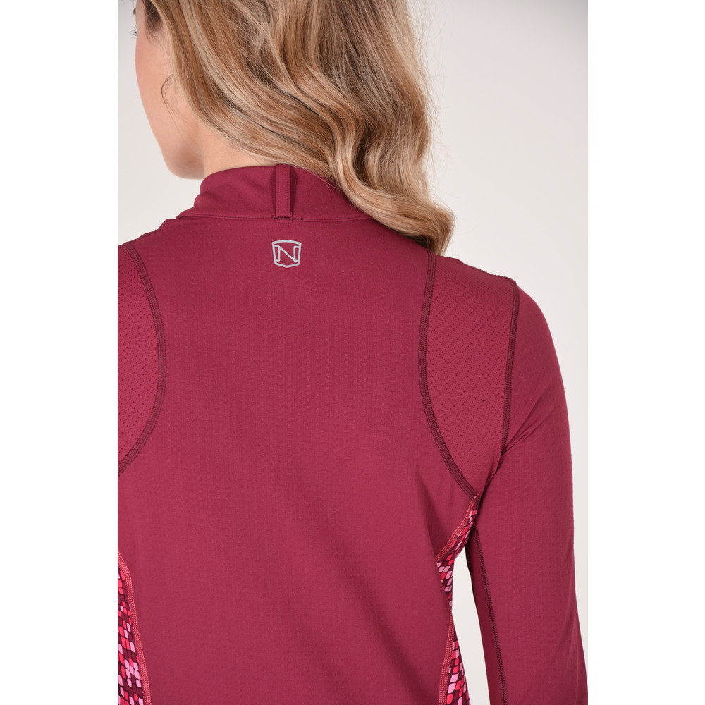 Lindsey Performance L/S Cranberry
