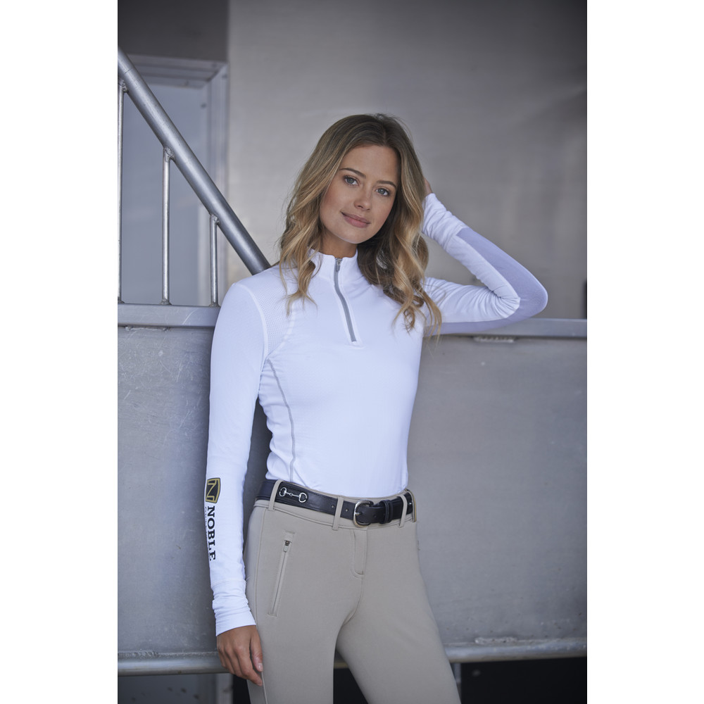 Team Lindsey Performance Shirt White