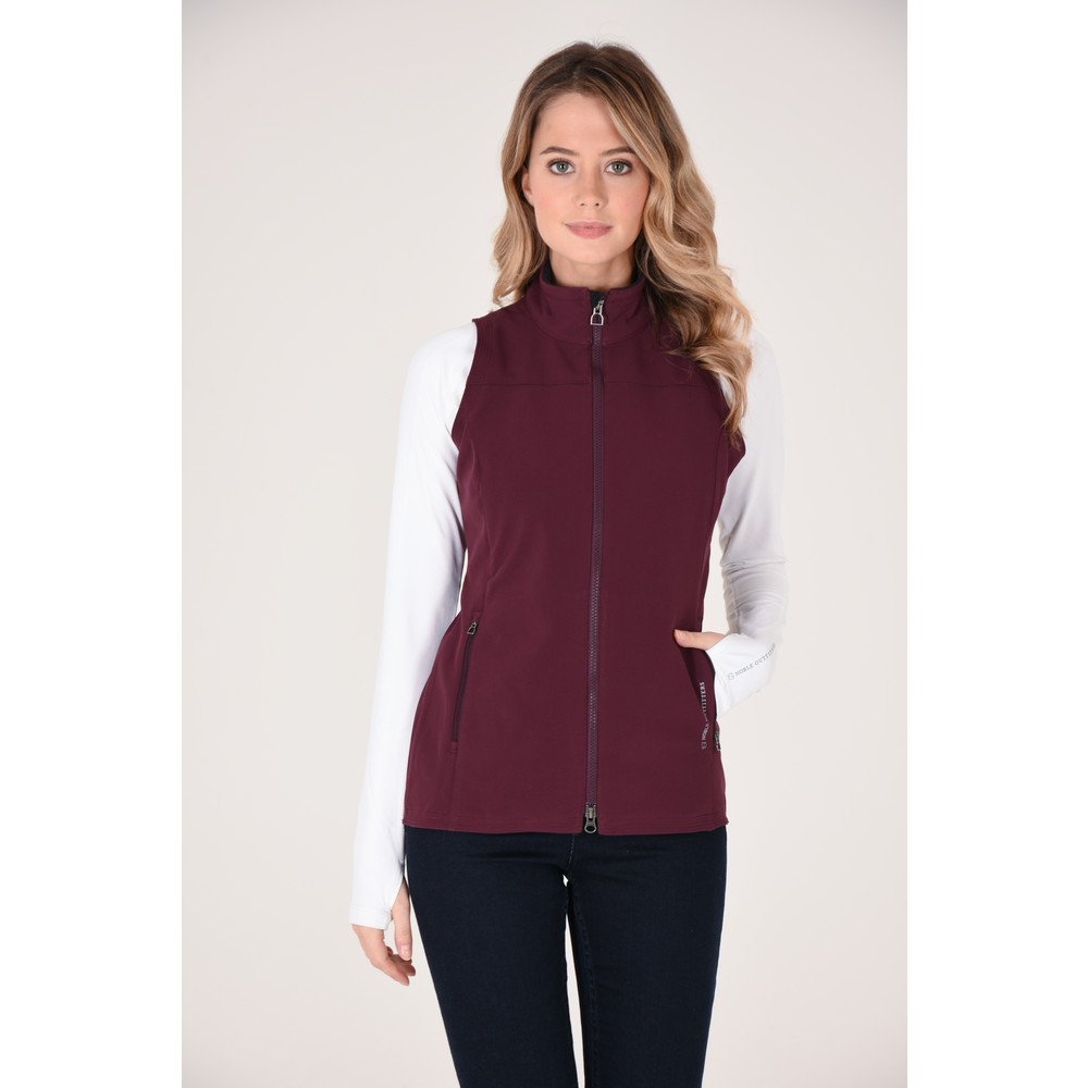 Women's All Around Vest Wine
