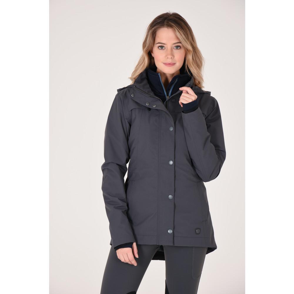 Cheval Waterproof Jacket Asphalt