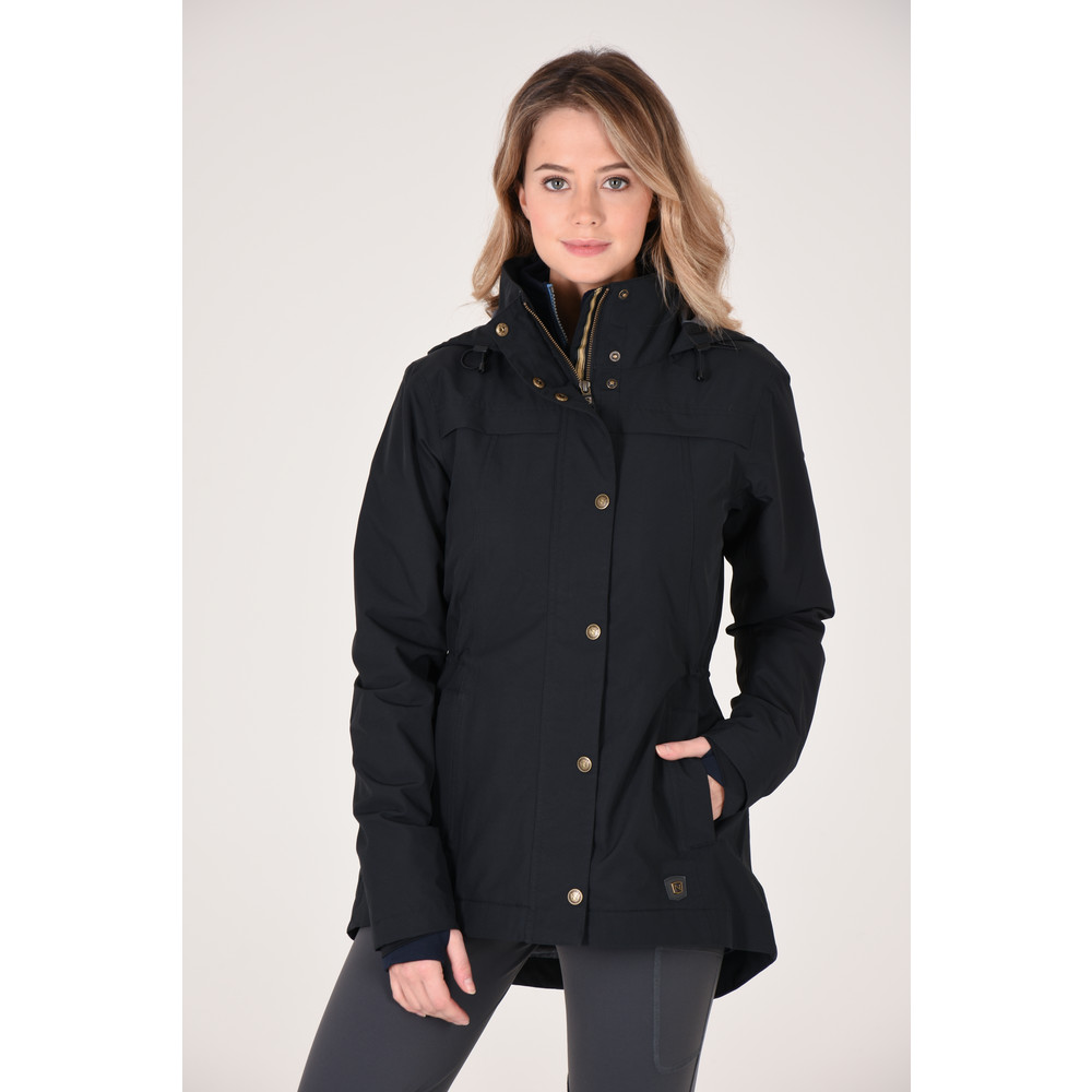 Cheval Waterproof Jacket Black