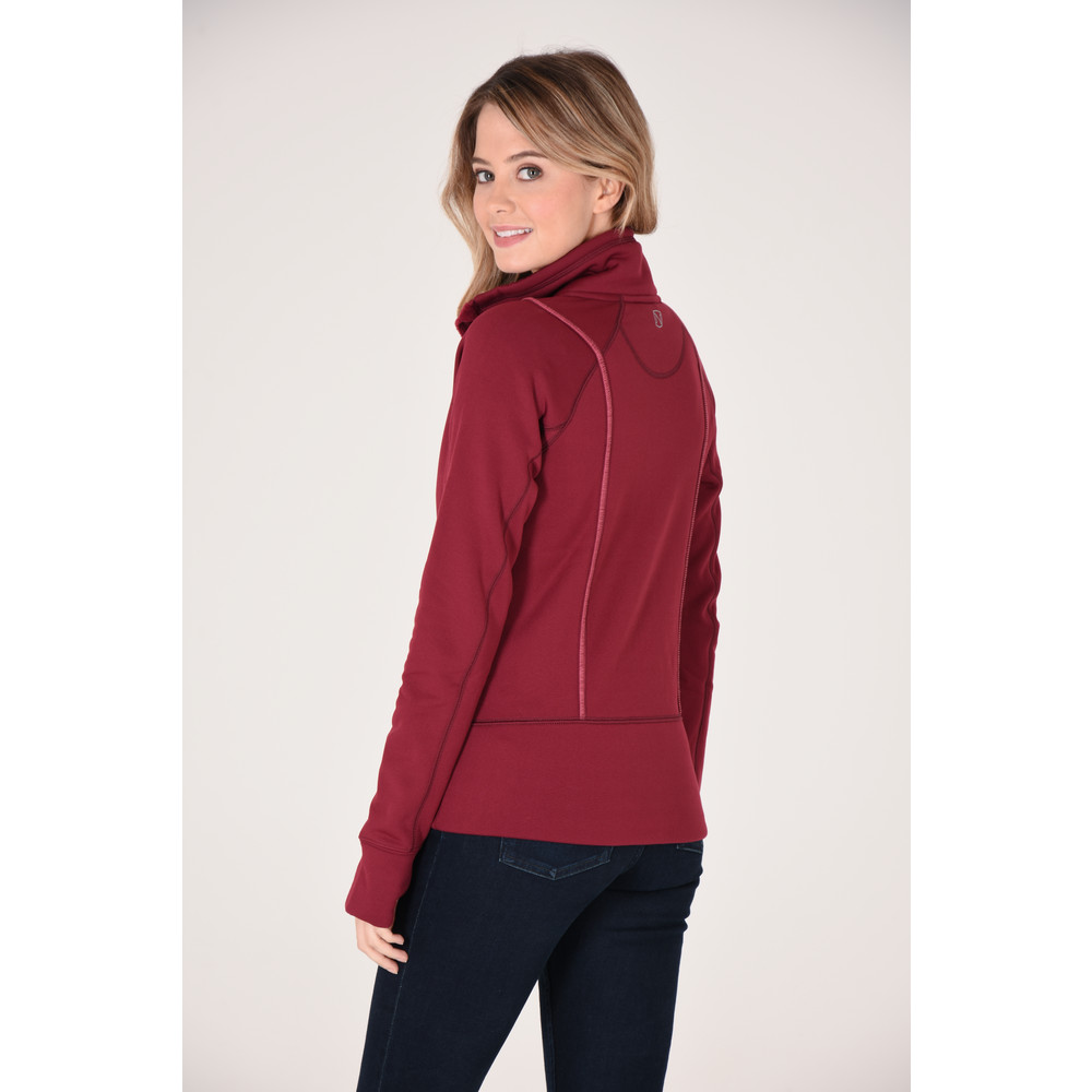 Explorer Fleece Jacket Cranberry