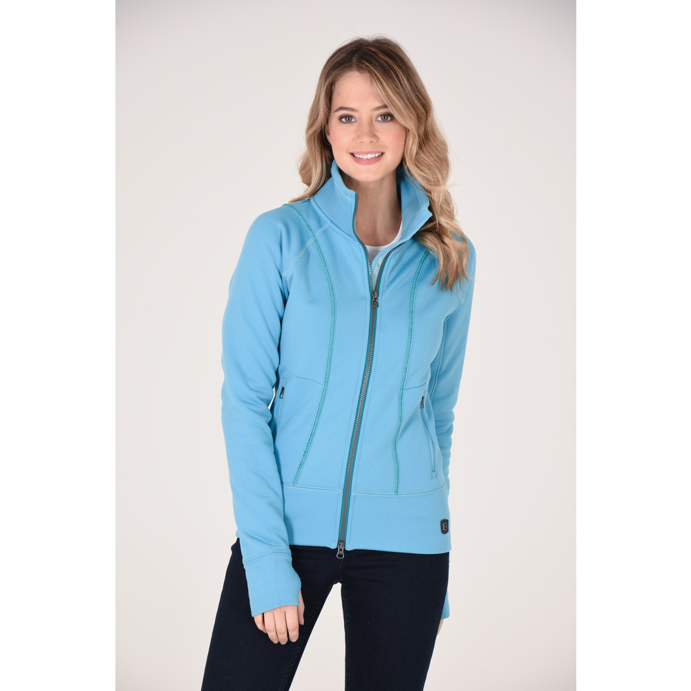 Explorer Fleece Jacket Duchess Blue