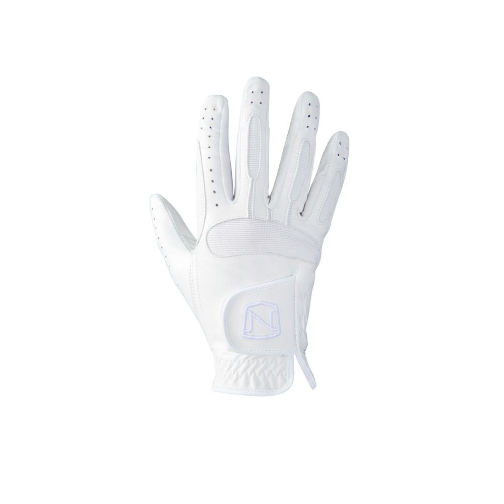 Show Ready Leather Glove White