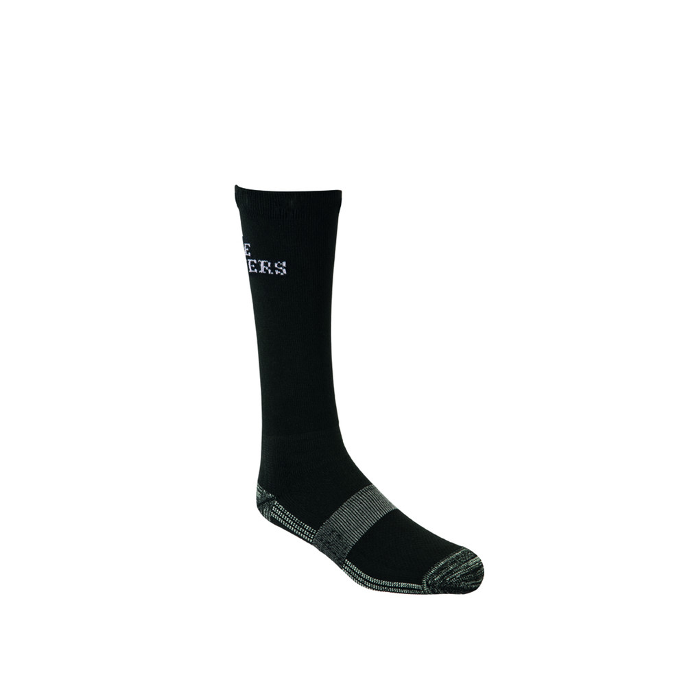 The Best Dang Boot Sock - Crew Black