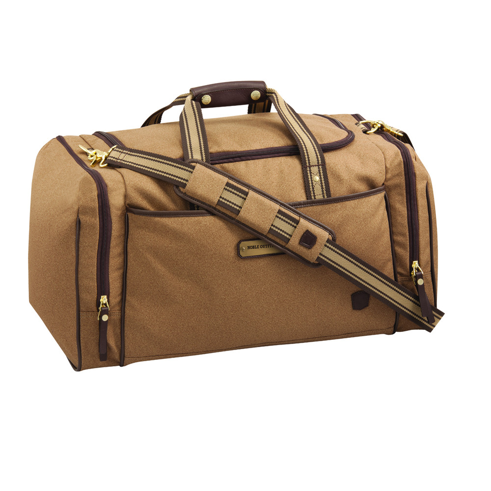 Signature Duffle Bag Tobacco