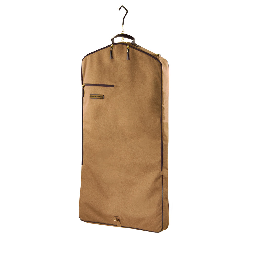 Signature Garment Bag Tobacco