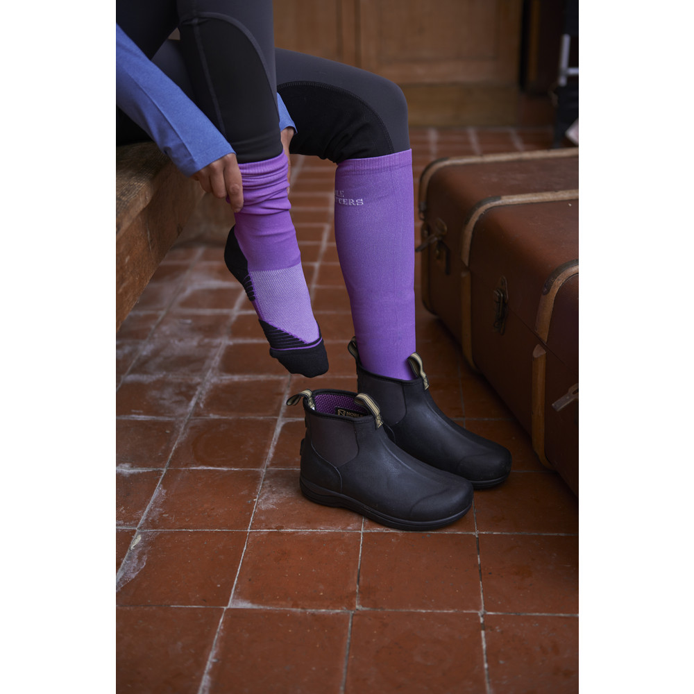 Perfect Fit Over The Calf Sock Purple