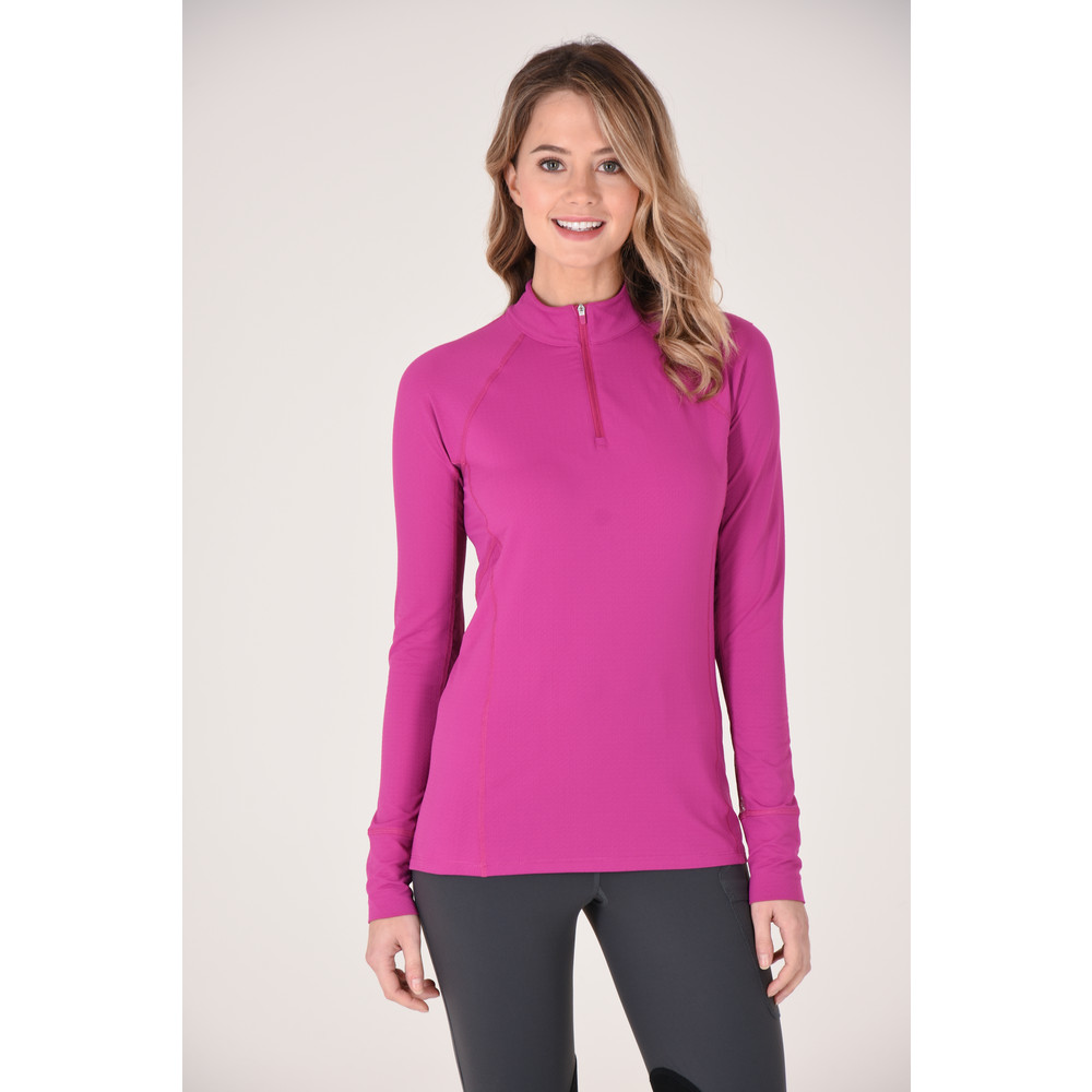 Ashley Performance Shirt Plum/Plum Lace