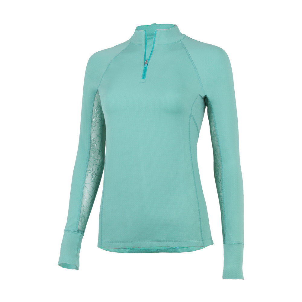 Ashley Performance Shirt Mint Geo