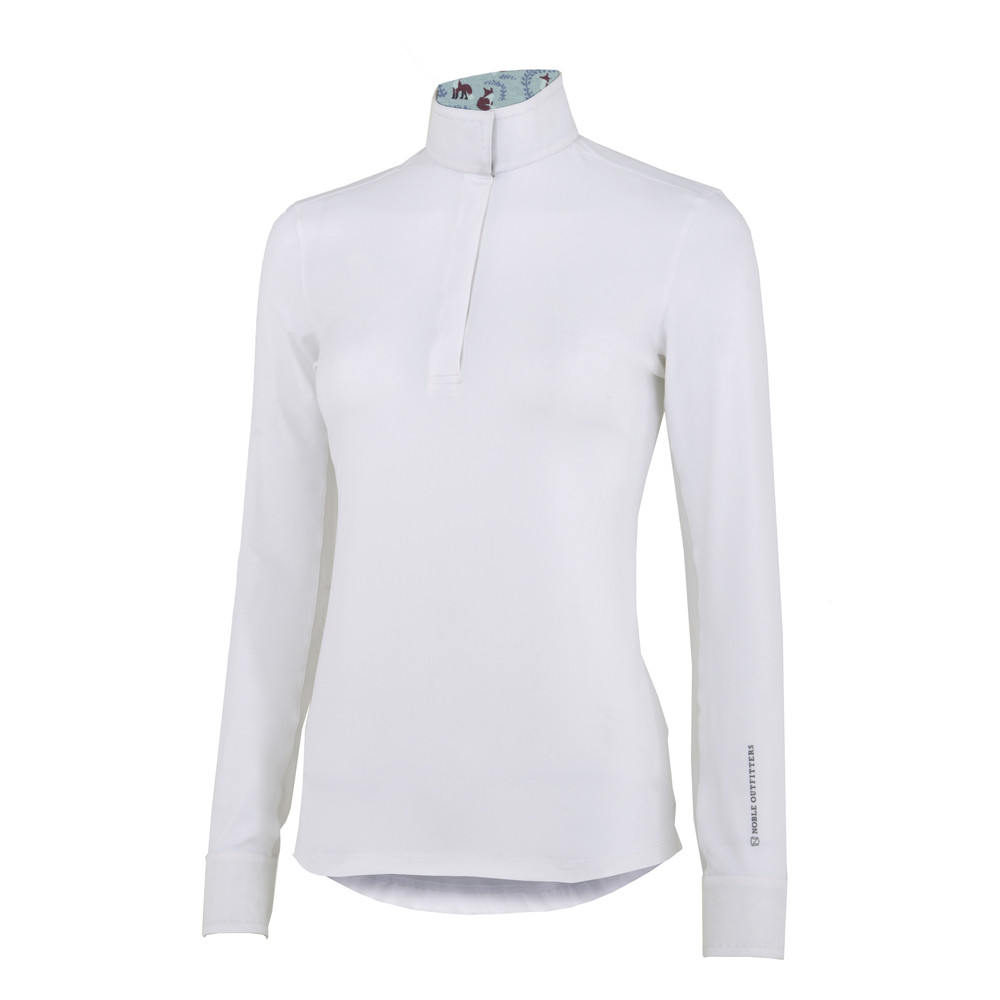 Allison Pull on Show Shirt White/Fox