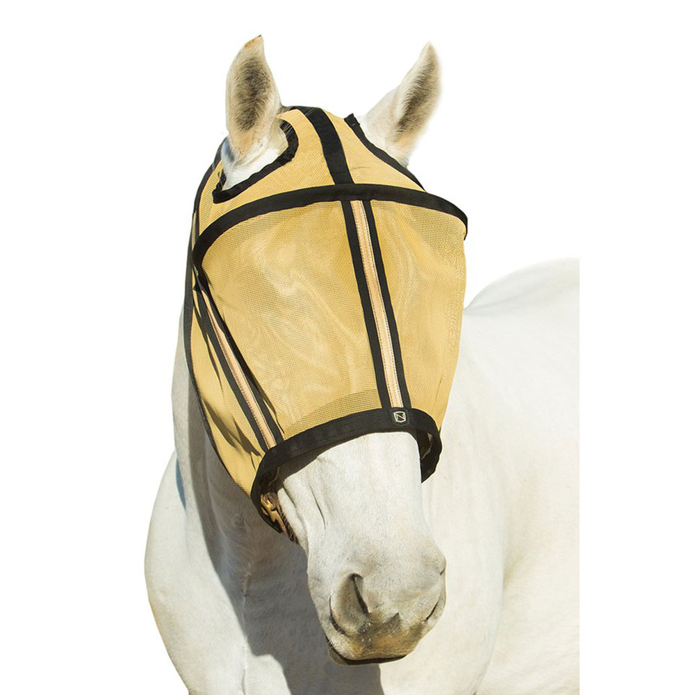 Guardsman™ Fly Mask No Ears Noble Gold