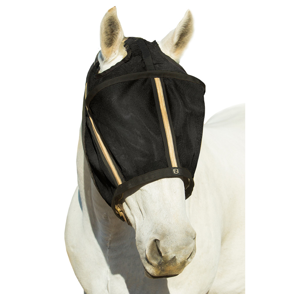 Guardsman™ Fly Mask No Ears Black