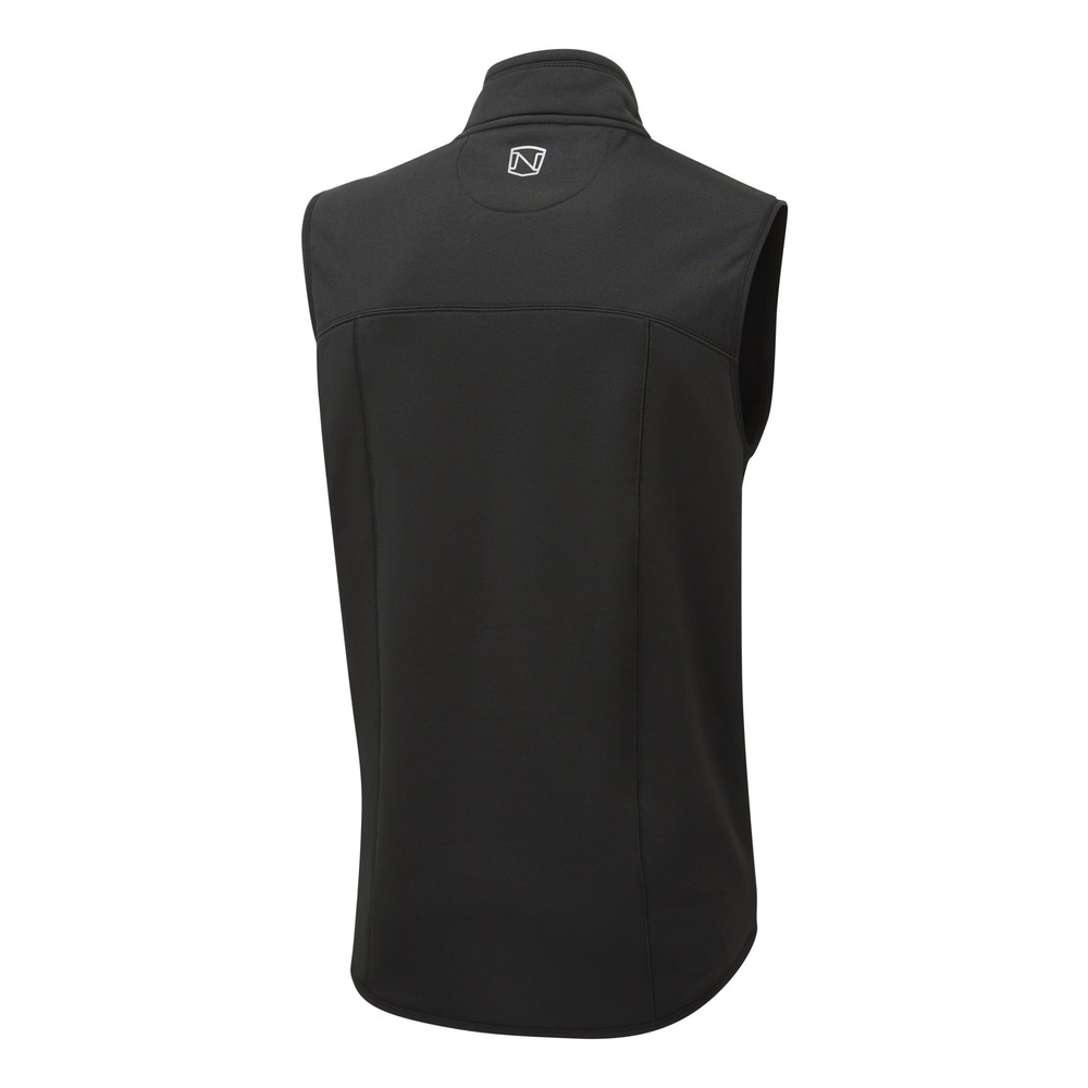 Bramham Fleece Vest Black