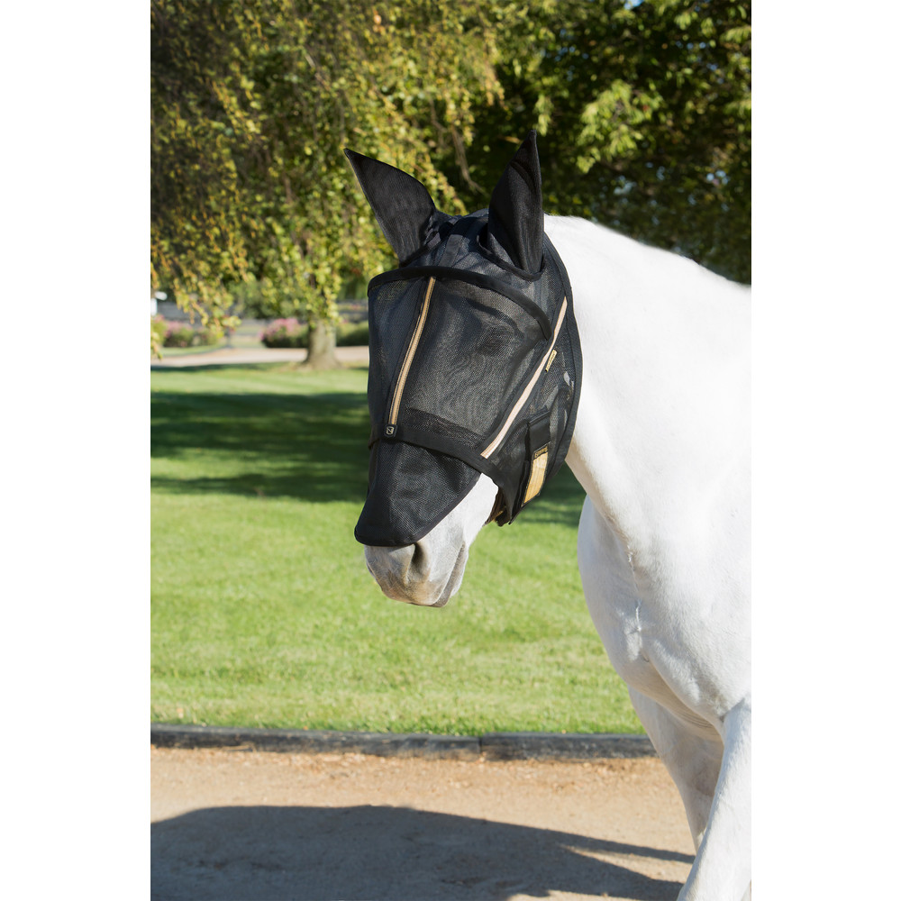 Guardsman™ Fly Mask With Ears Black