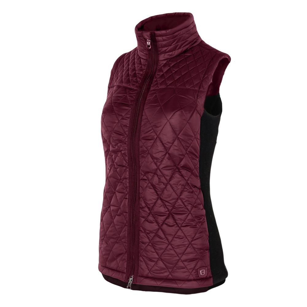 Classic Quilted Vest Fig