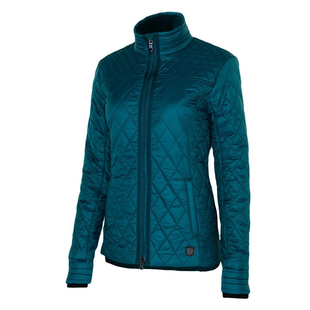 Warmup Quilted Jacket Deep Teal
