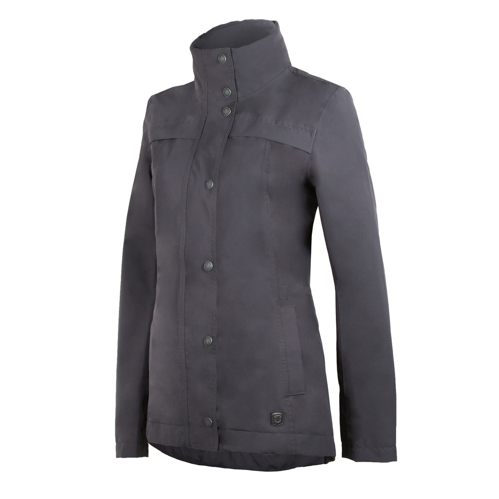 Cheval Waterproof Jacket Asphalt
