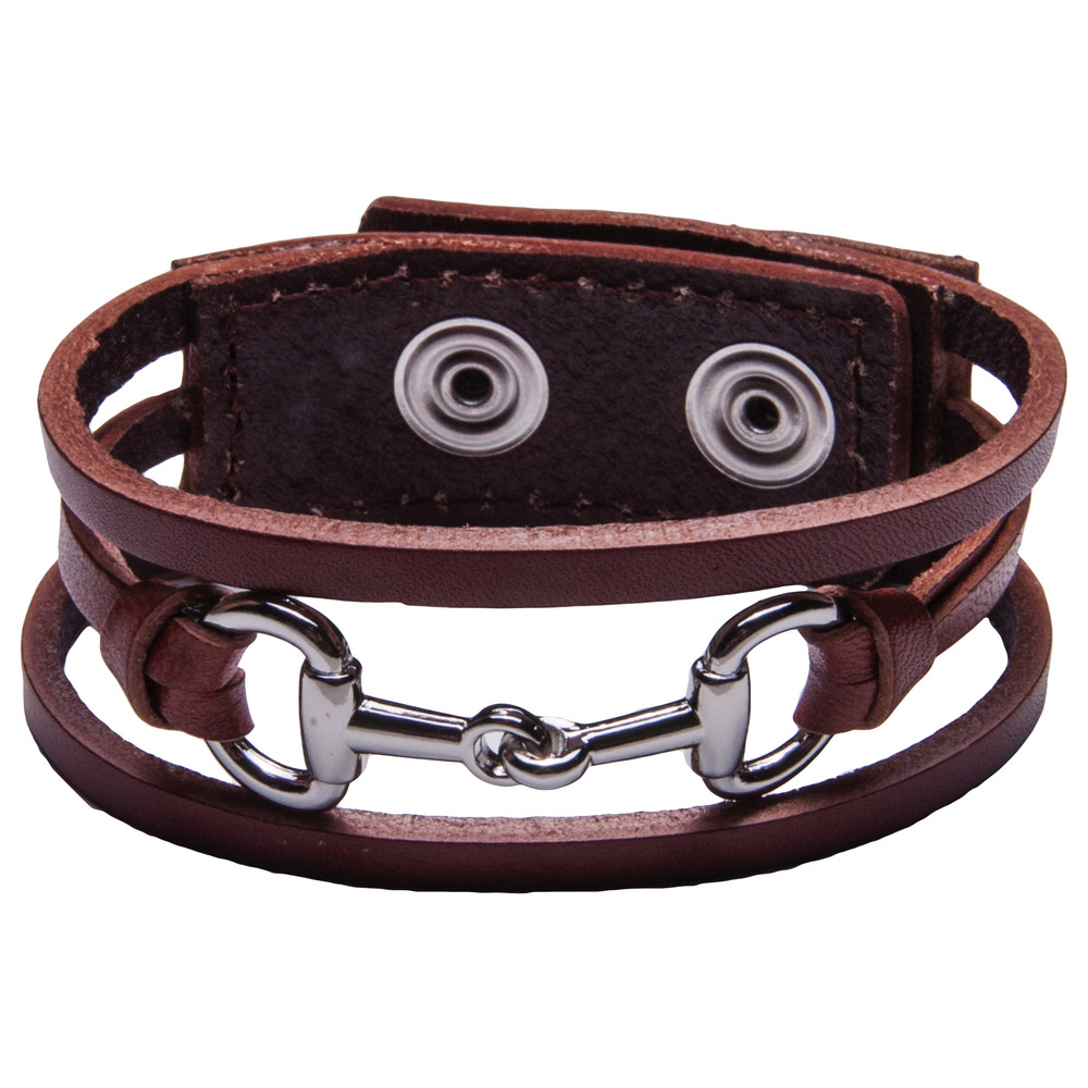 Bit by Bit Bracelet Brown