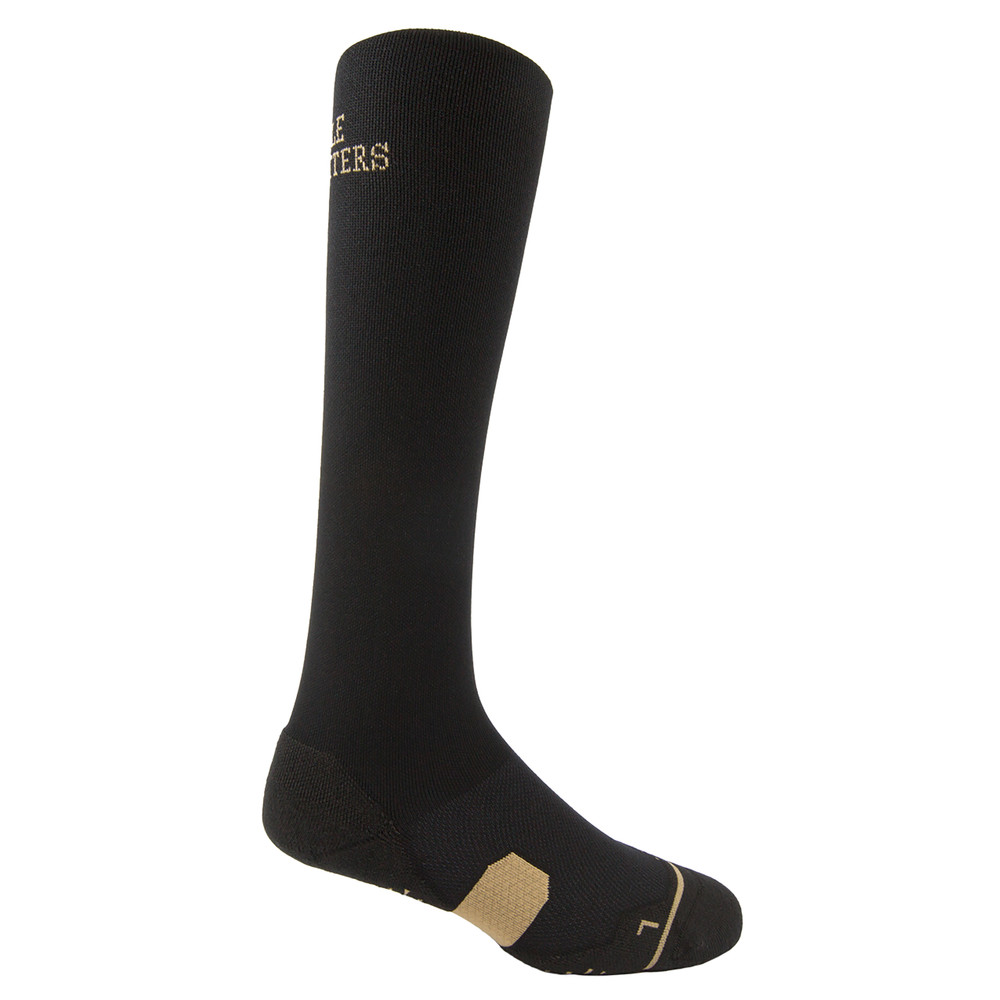Perfect Fit Over The Calf Sock Black