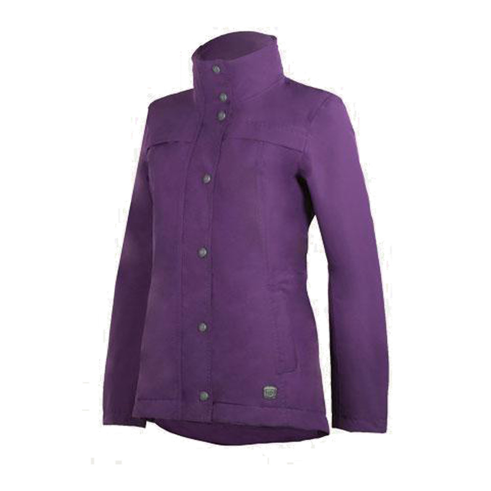 Cheval Waterproof Jacket Dark Purple