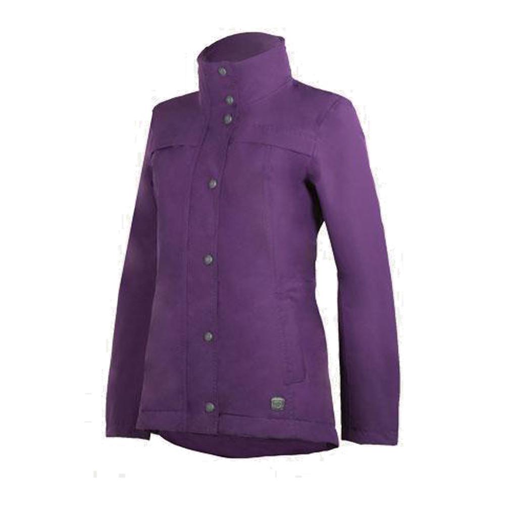 Cheval Waterproof Jacket Dark Purple