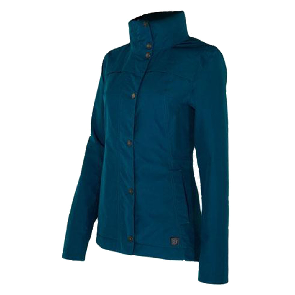 Cheval Waterproof Jacket Deep Teal