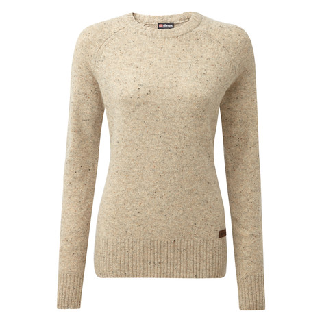 Sherpa Adventure Gear Kangtega Crew Sweater in Karnali Sand