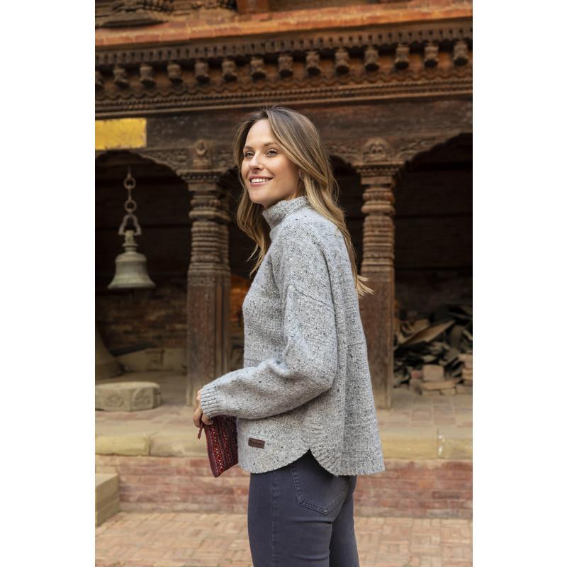 Yuden Pullover Sweater - Darjeeling Mist cd58611f2