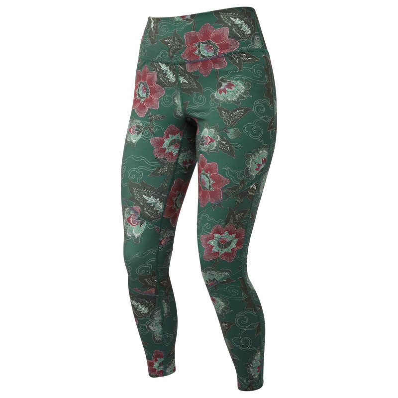Sapna Printed Legging - Rathna Green