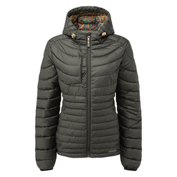 Sherpa Adventure Gear Nangpala Hooded Down Jacket in Black