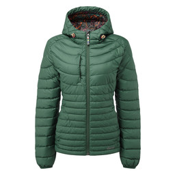 Sherpa Adventure Gear Nangpala Hooded Down Jacket in Rathna Green