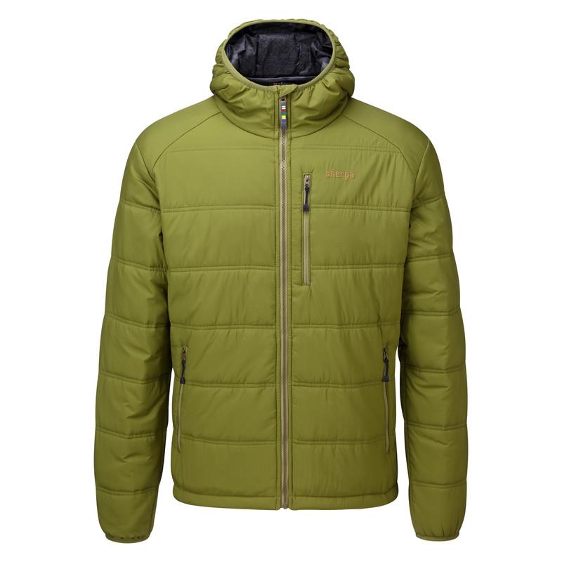 Kailash Hooded Jacket - Gokarna Green