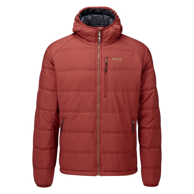Kailash Hooded Jacket - Potala Red